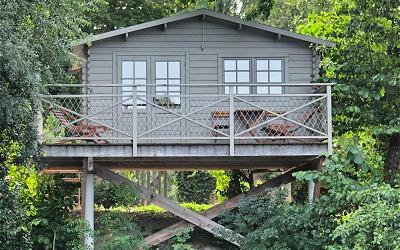 Hébergement, location de cabanes Quai des Pontis en Charente