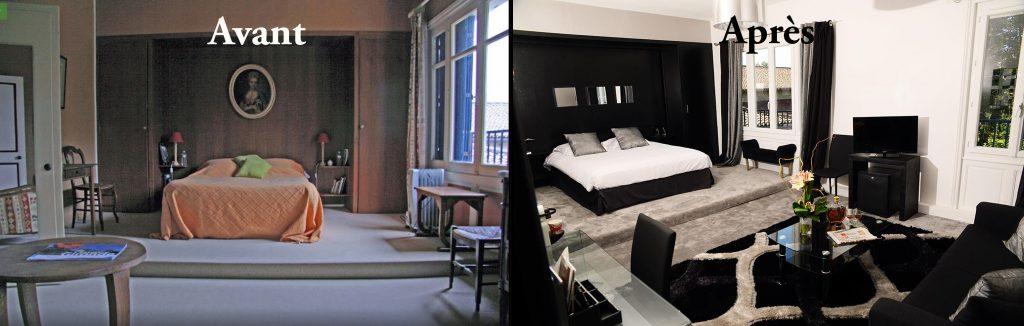 Hôtel Quai des Pontis à Cognac : les chambres