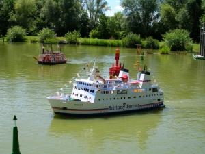 Les bateaux miniatures de st Savinien