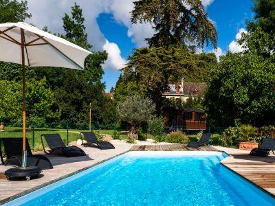 Piscine de l'hôtel Quai des Pontis à Cognac en Charente