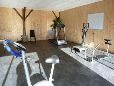 Salle de sport de l'hôtel Quai des Pontis à Cognac en Charente