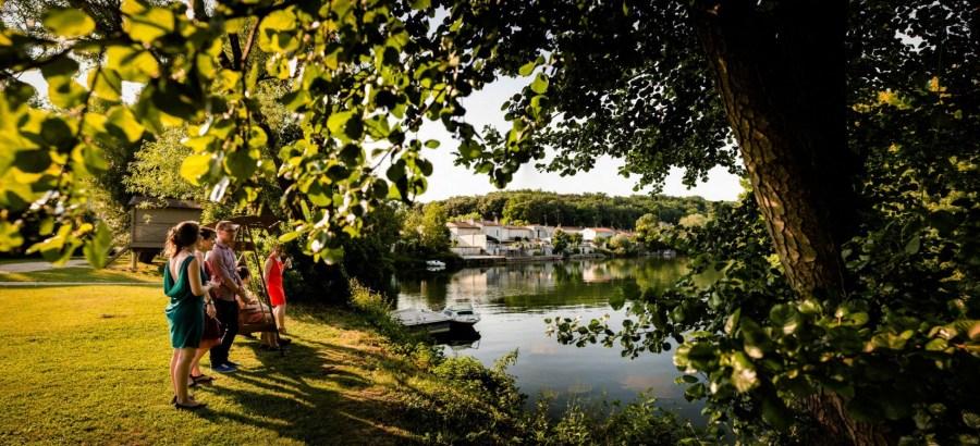 En bordure d'un bras de la Charente
